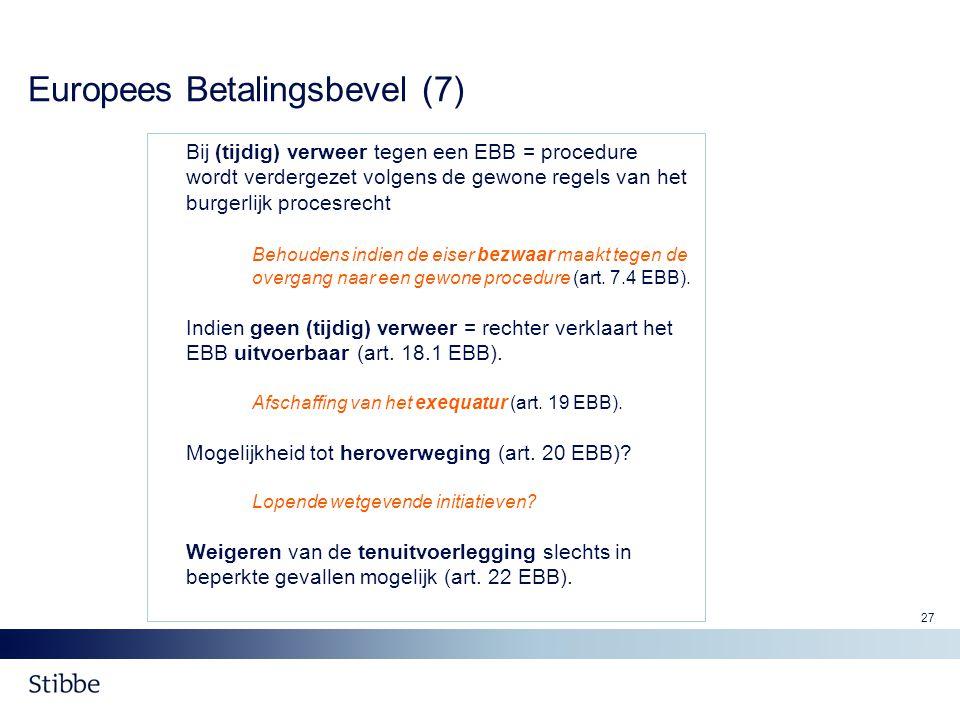 Europees Betalingsbevel (7)