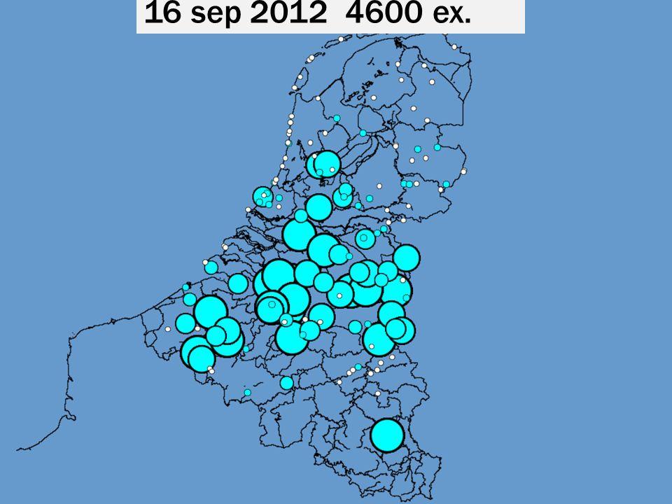 16 sep 2012 4600 ex.