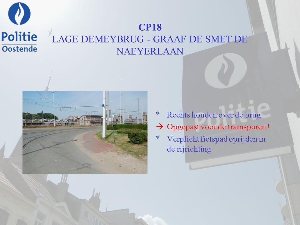 CP18 LAGE DEMEYBRUG - GRAAF DE SMET DE NAEYERLAAN