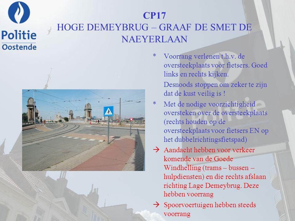 CP17 HOGE DEMEYBRUG – GRAAF DE SMET DE NAEYERLAAN