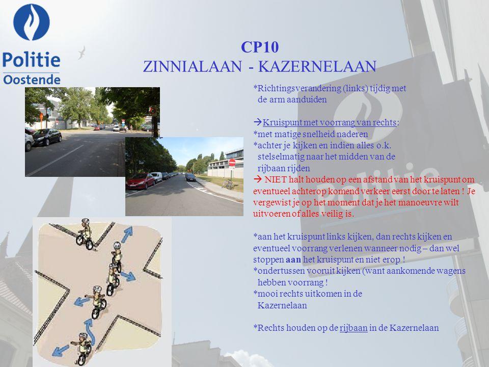 CP10 ZINNIALAAN - KAZERNELAAN