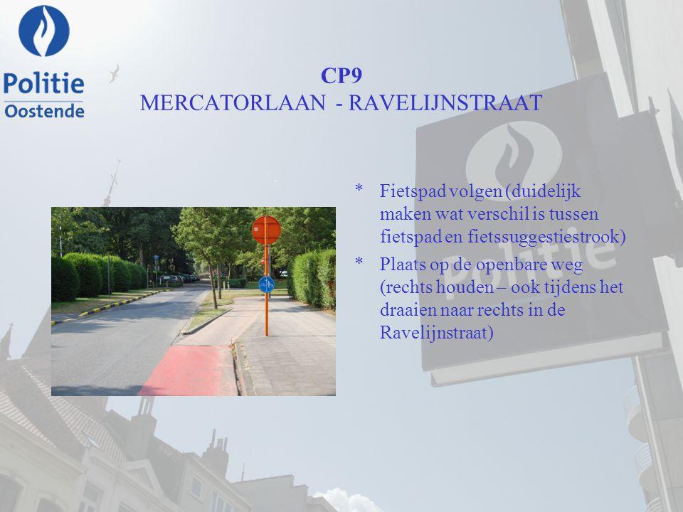 CP9 MERCATORLAAN - RAVELIJNSTRAAT