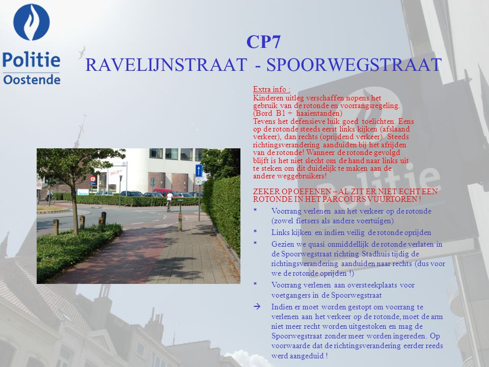 CP7 RAVELIJNSTRAAT - SPOORWEGSTRAAT