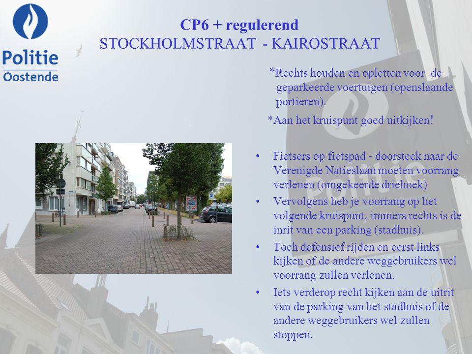 CP6 + regulerend STOCKHOLMSTRAAT - KAIROSTRAAT