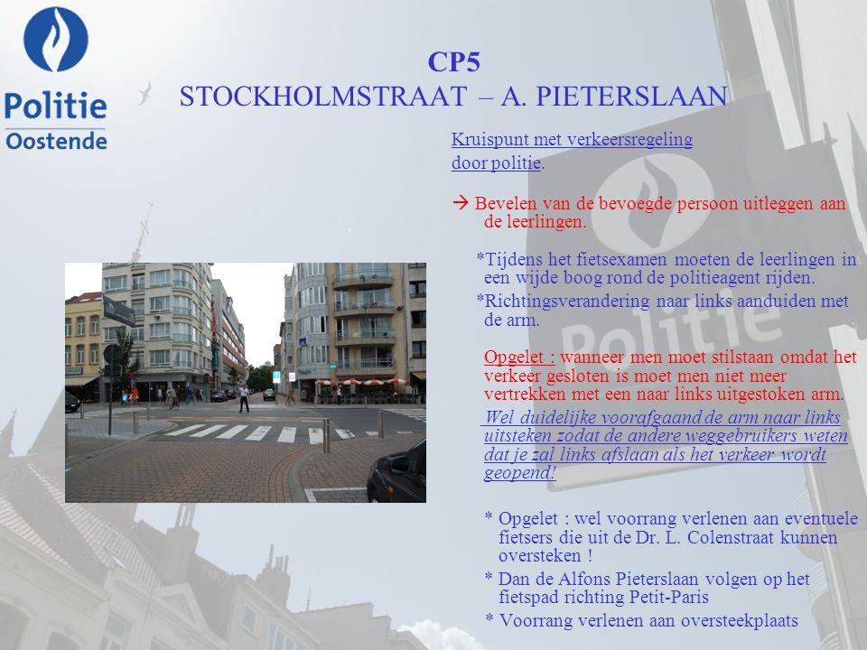 CP5 STOCKHOLMSTRAAT – A. PIETERSLAAN