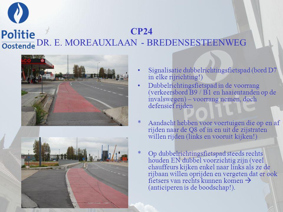 CP24 DR. E. MOREAUXLAAN - BREDENSESTEENWEG