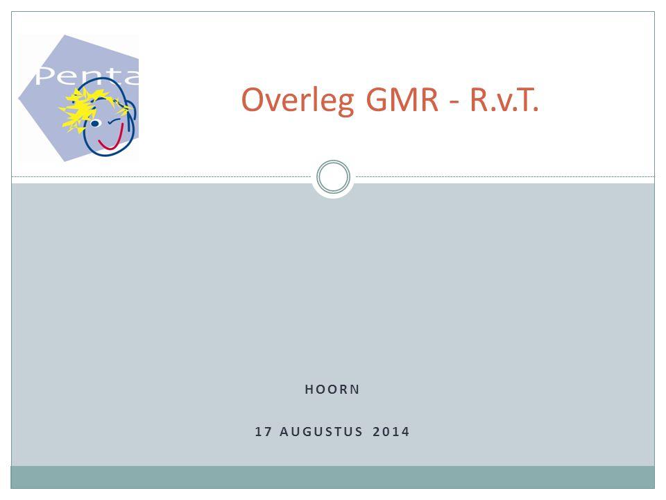 Overleg GMR - R.v.T. Hoorn 5 april 2017