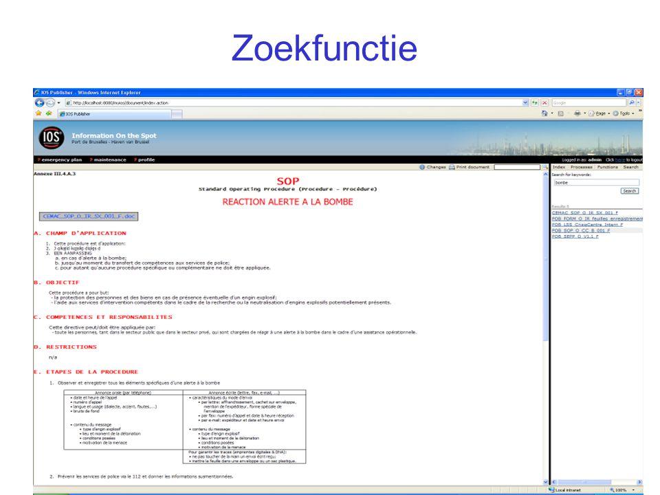 Zoekfunctie IOS Presentatie 41/
