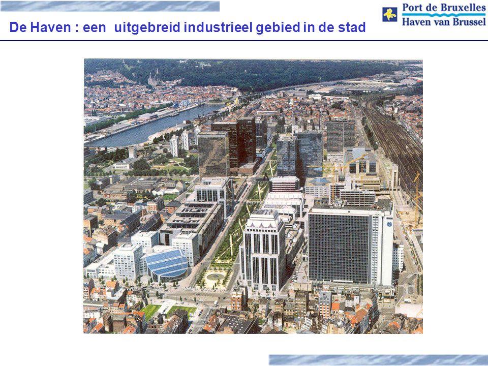 De Haven : een uitgebreid industrieel gebied in de stad