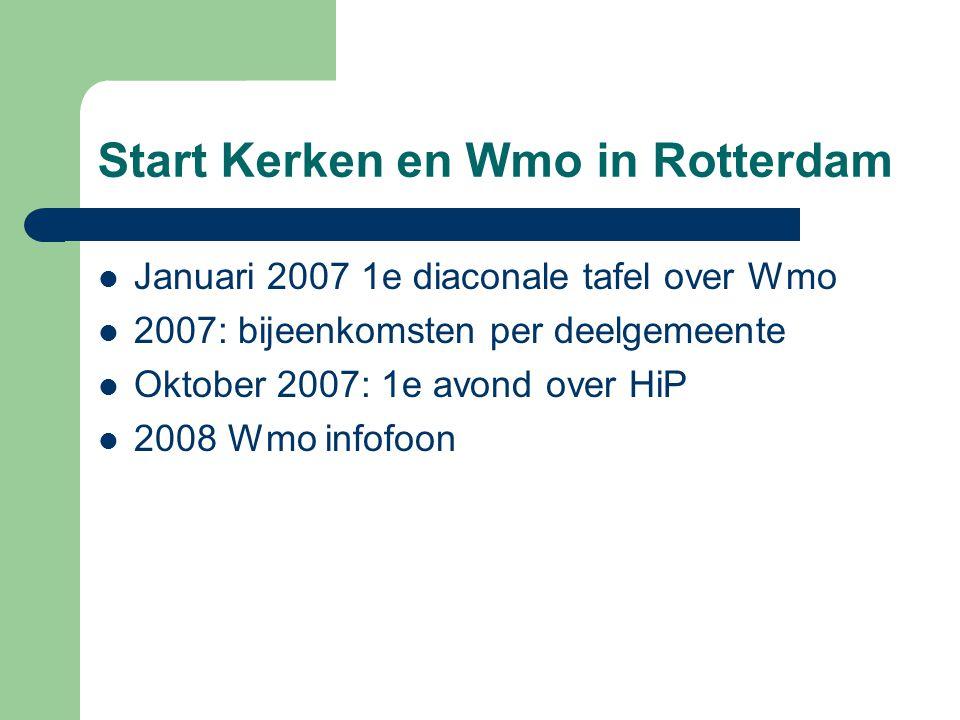 Start Kerken en Wmo in Rotterdam
