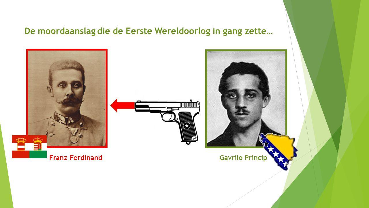 De moordaanslag die de Eerste Wereldoorlog in gang zette…