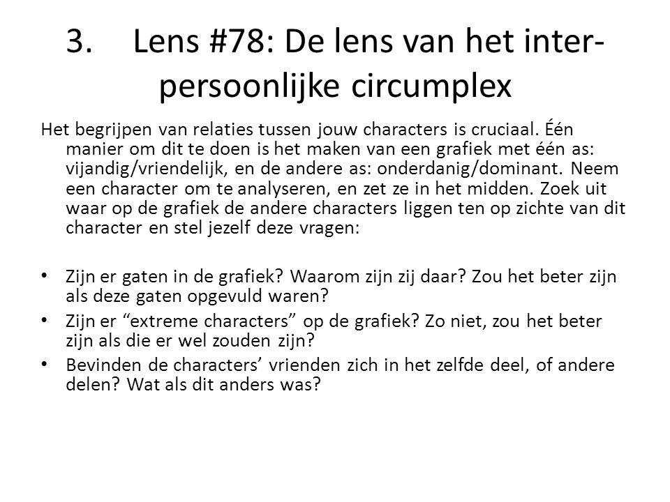 3. Lens #78: De lens van het inter-persoonlijke circumplex