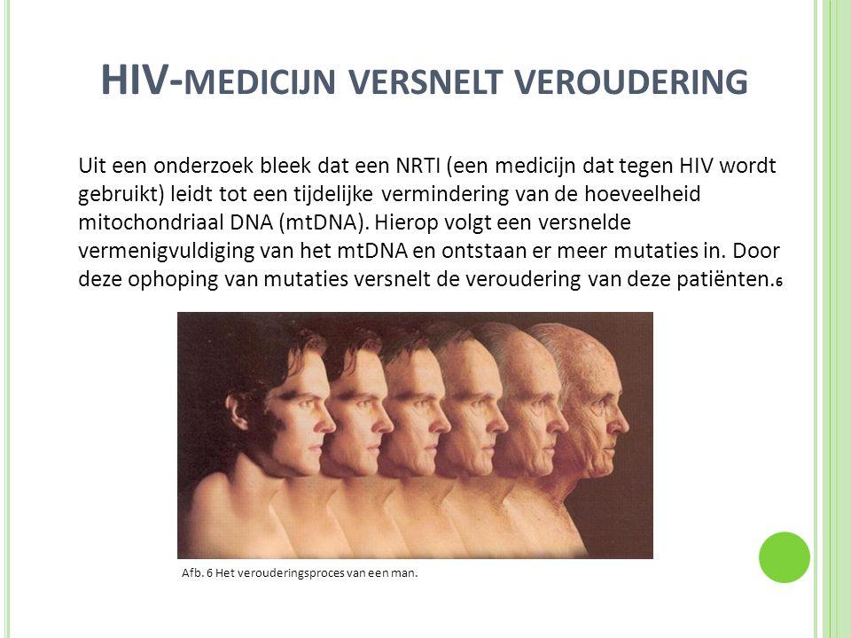 HIV-medicijn versnelt veroudering