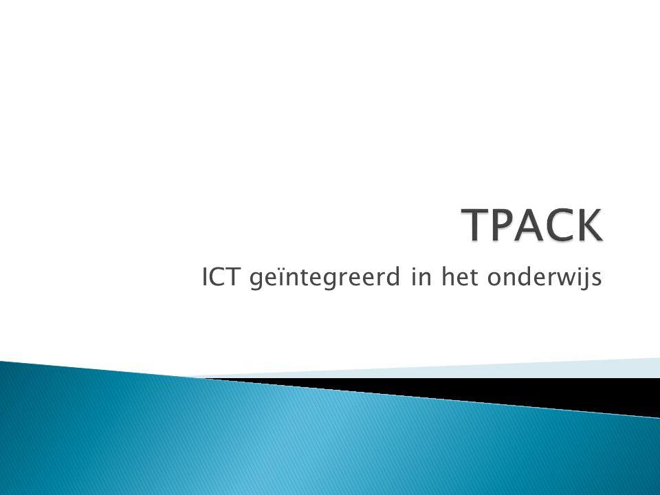 ICT geïntegreerd in het onderwijs