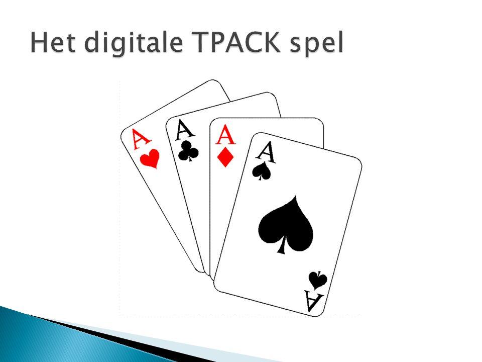 Het digitale TPACK spel