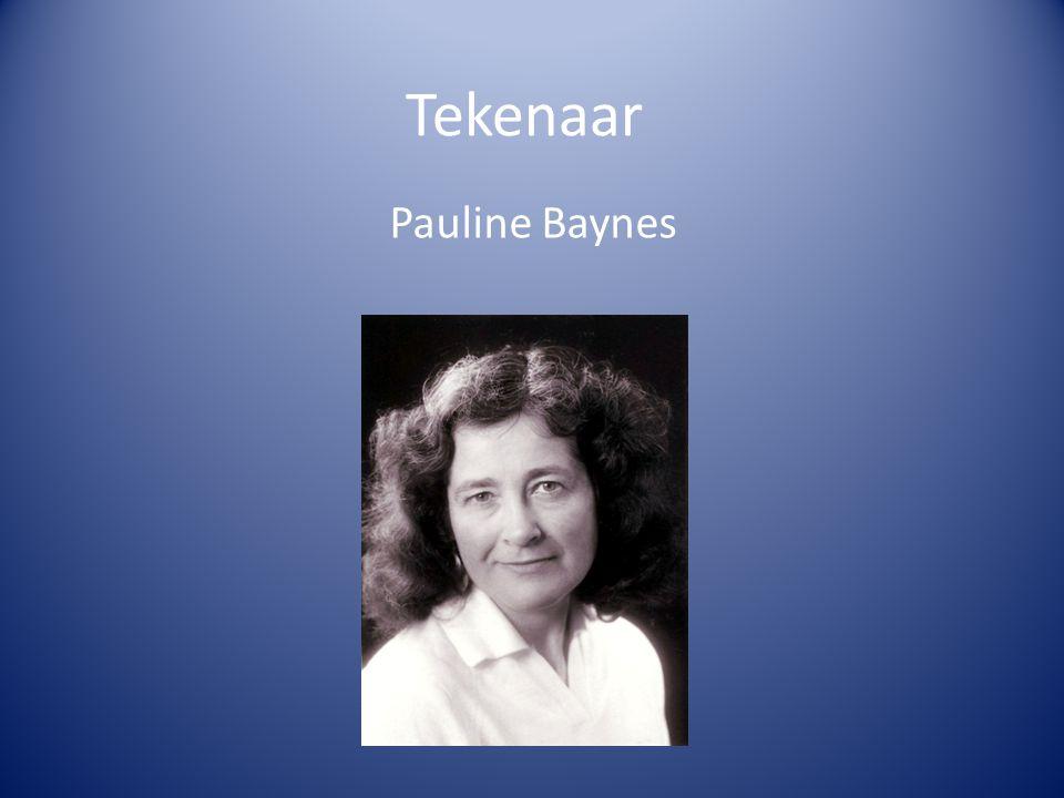 Tekenaar Pauline Baynes Engelse illustrator Leefde van 1922-2008