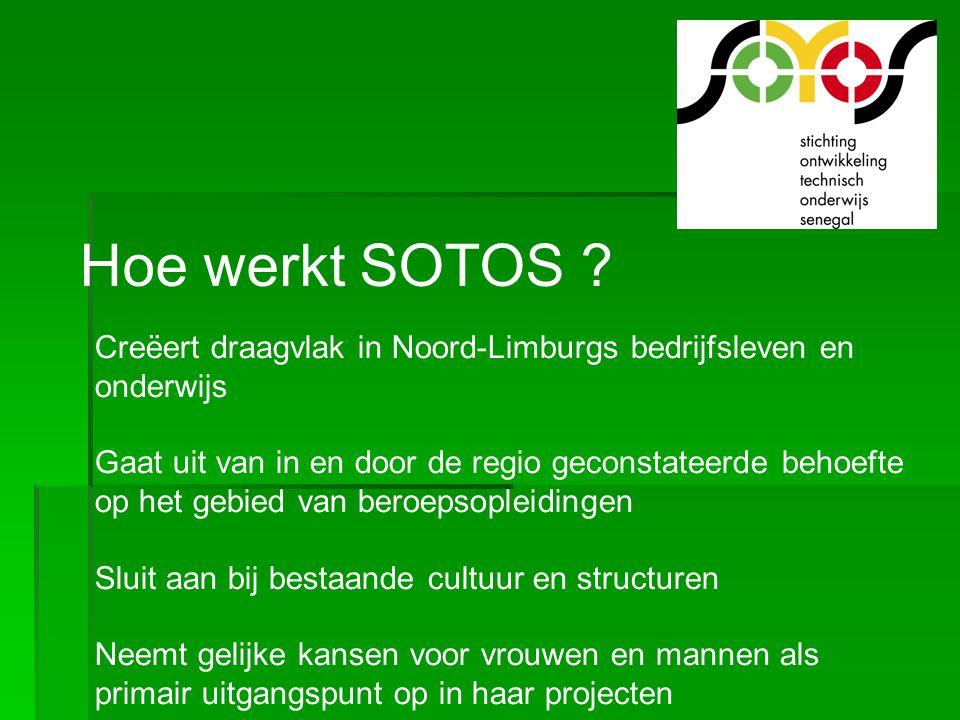 Hoe werkt SOTOS Creëert draagvlak in Noord-Limburgs bedrijfsleven en