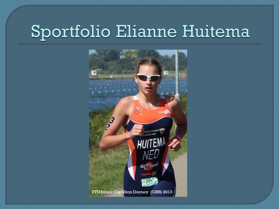 Sportfolio Elianne Huitema