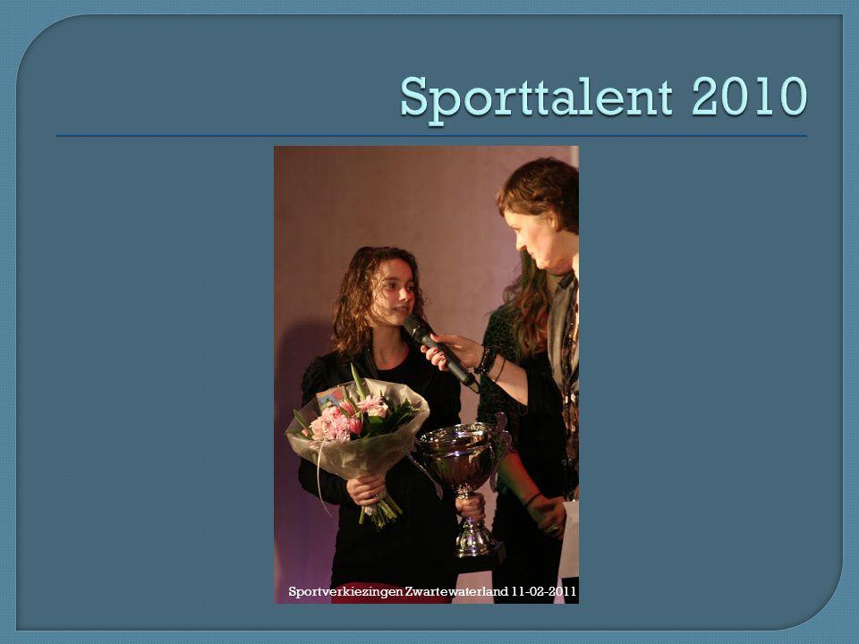 Sporttalent 2010 Sportverkiezingen Zwartewaterland 11-02-2011