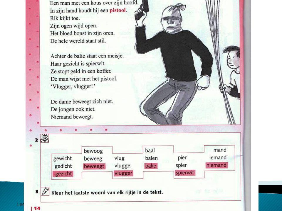 Werkboek Estafette Leesonderwijs Panaga school 2011