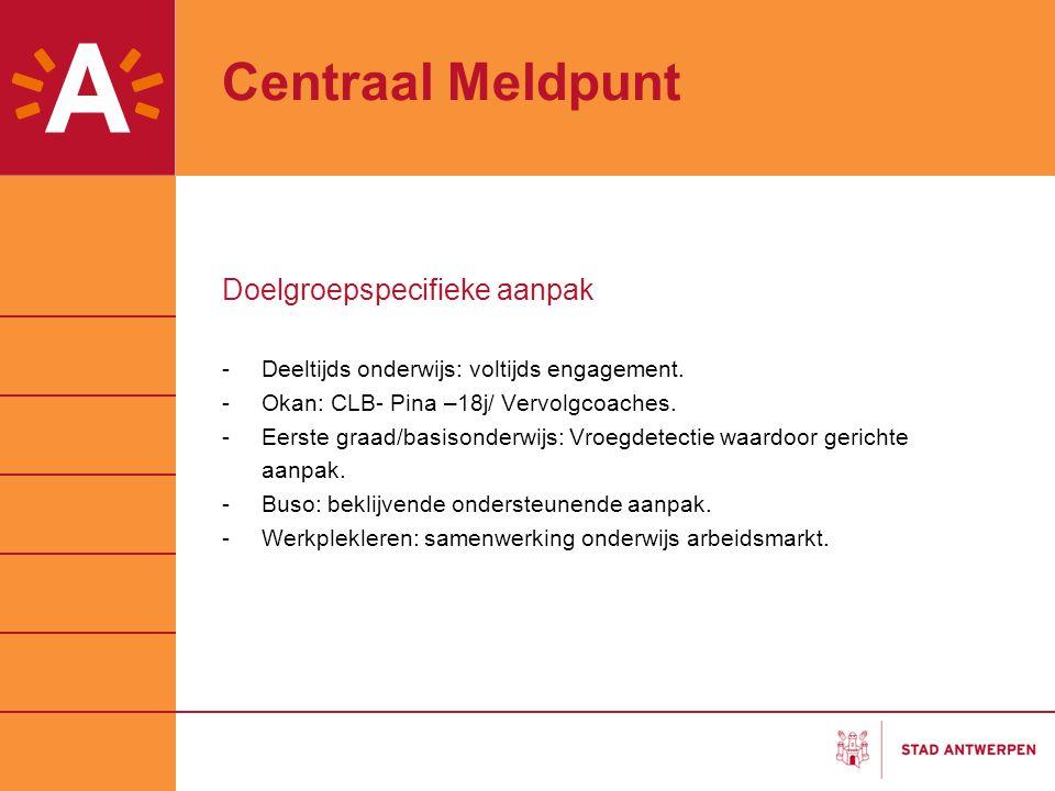 Centraal Meldpunt Doelgroepspecifieke aanpak
