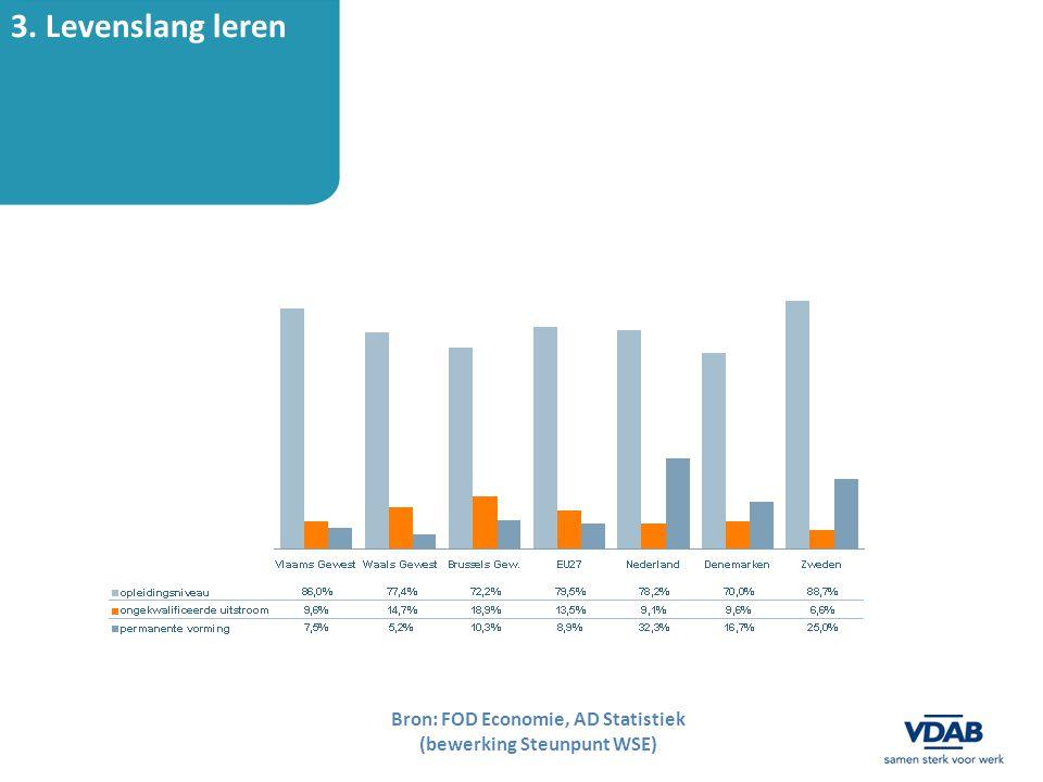 Bron: FOD Economie, AD Statistiek (bewerking Steunpunt WSE)
