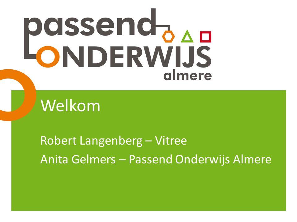 Robert Langenberg – Vitree Anita Gelmers – Passend Onderwijs Almere