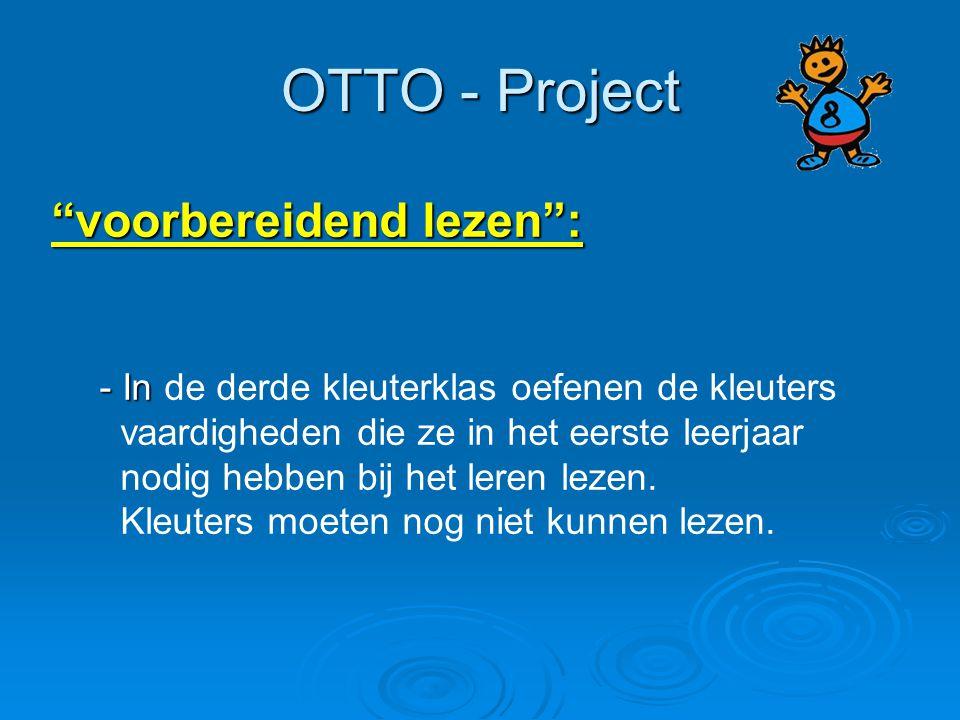 OTTO - Project voorbereidend lezen :