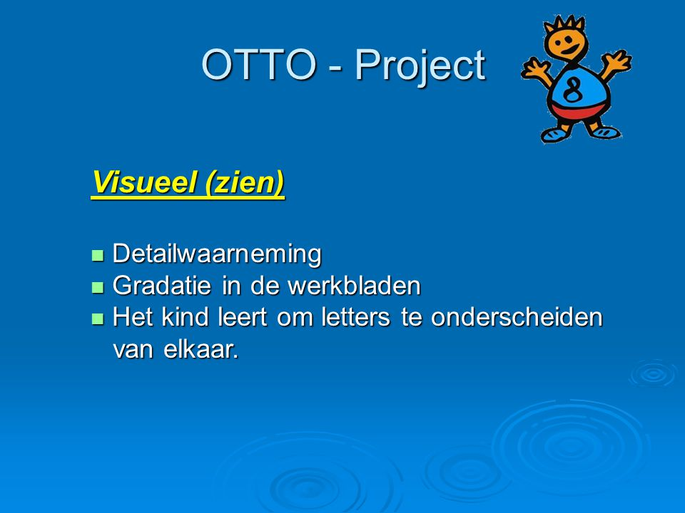 OTTO - Project Visueel (zien) Detailwaarneming