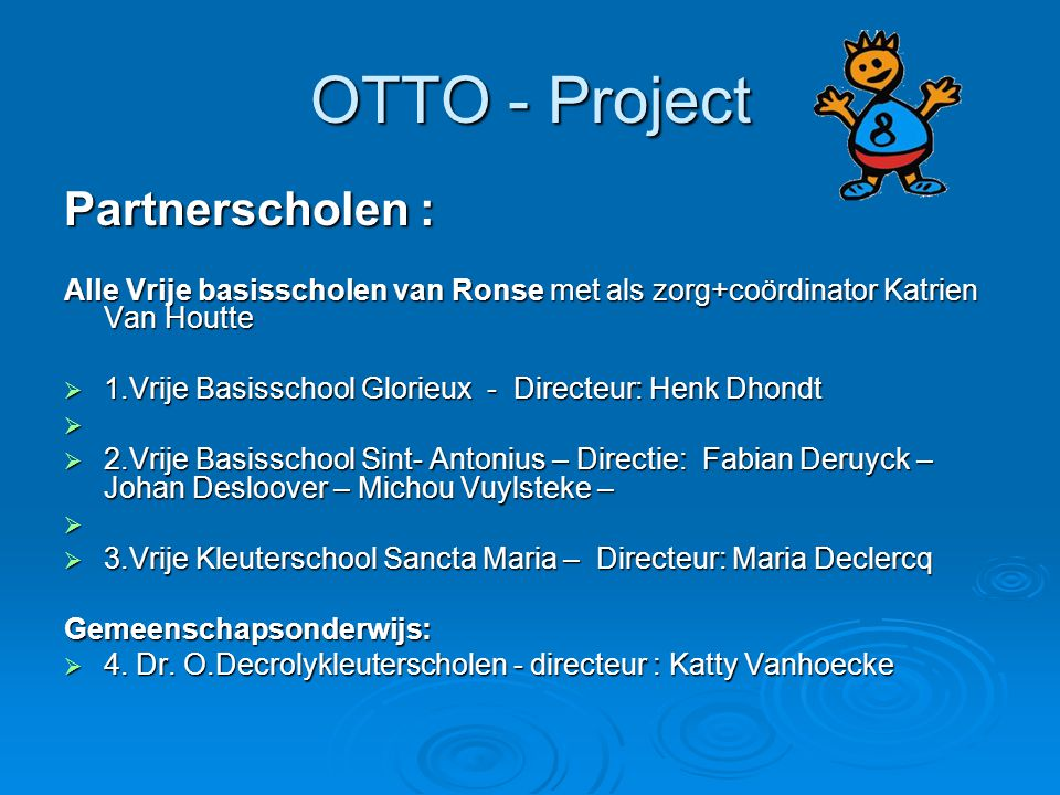 OTTO - Project Partnerscholen :