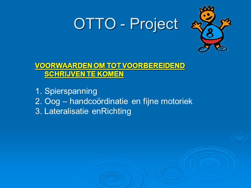 OTTO - Project Spierspanning Oog – handcoördinatie en fijne motoriek