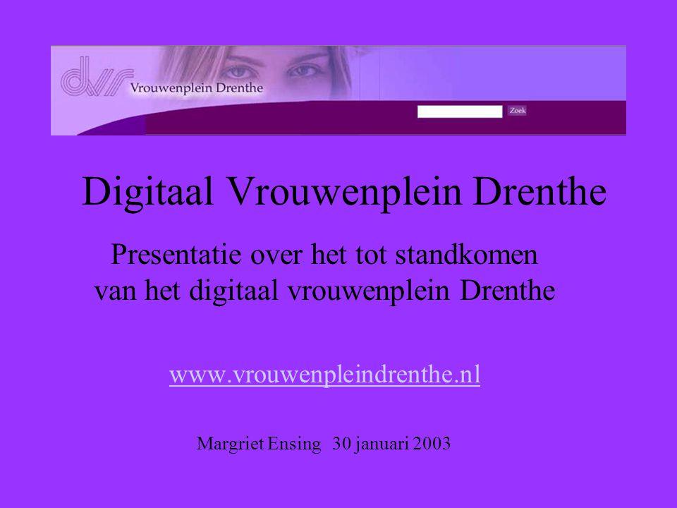 Digitaal Vrouwenplein Drenthe