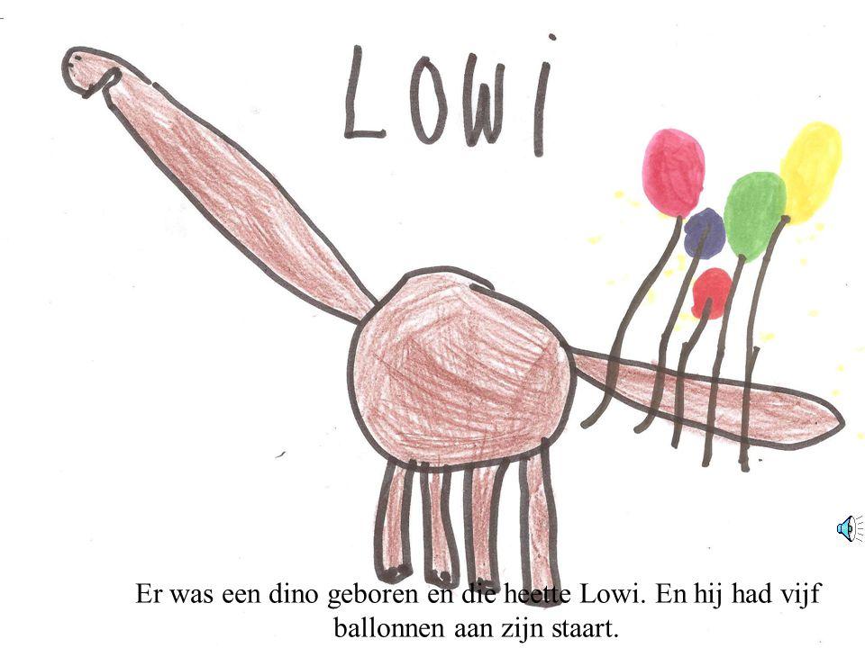 Er was een dino geboren en die heette Lowi