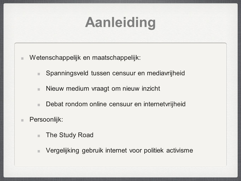 Aanleiding Wetenschappelijk en maatschappelijk: