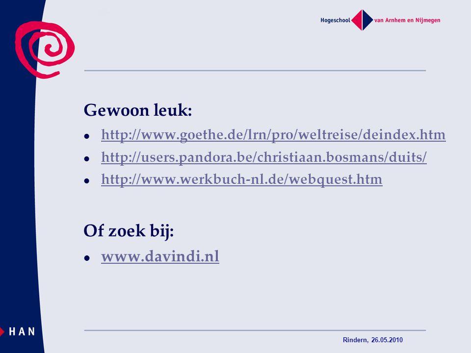 Gewoon leuk: Of zoek bij: www.davindi.nl