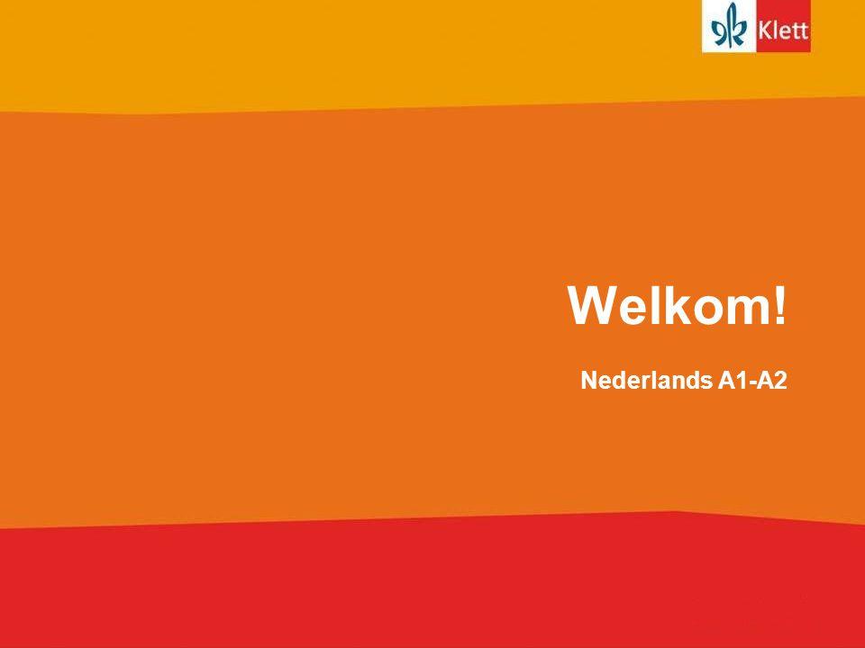 Welkom! Nederlands A1-A2