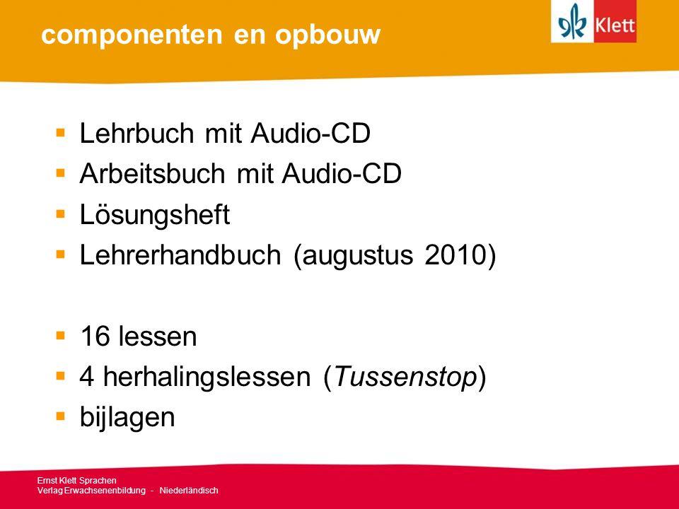 Arbeitsbuch mit Audio-CD Lösungsheft Lehrerhandbuch (augustus 2010)