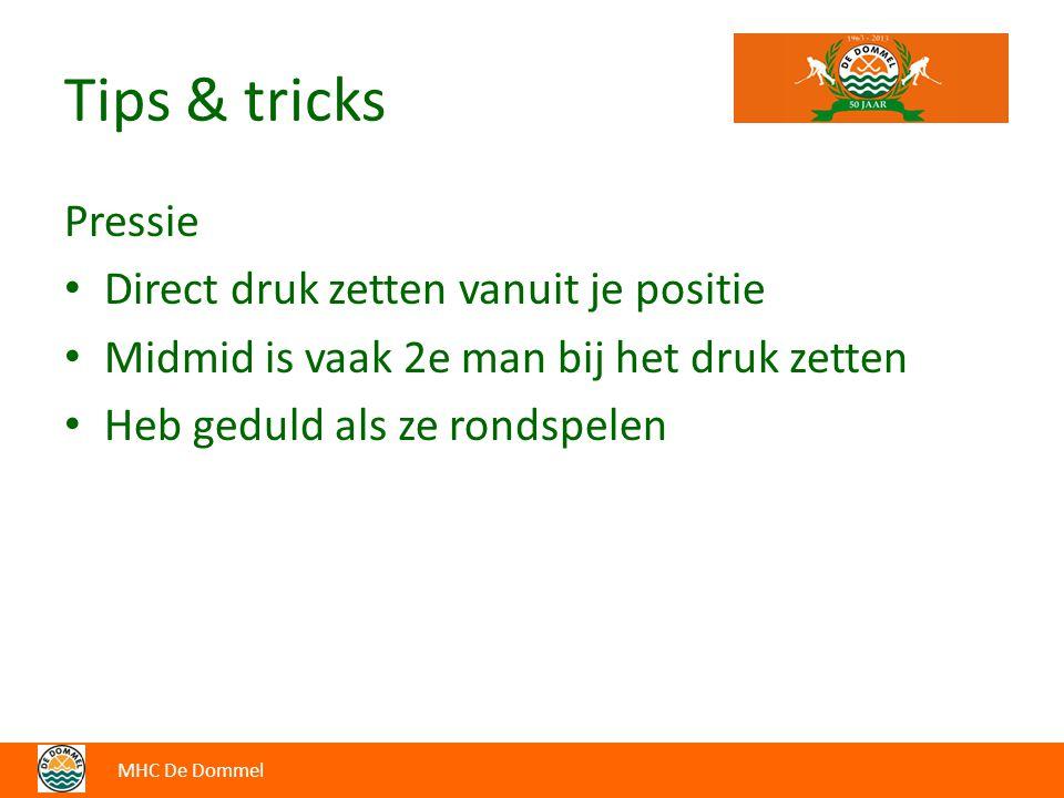 Tips & tricks Pressie Direct druk zetten vanuit je positie