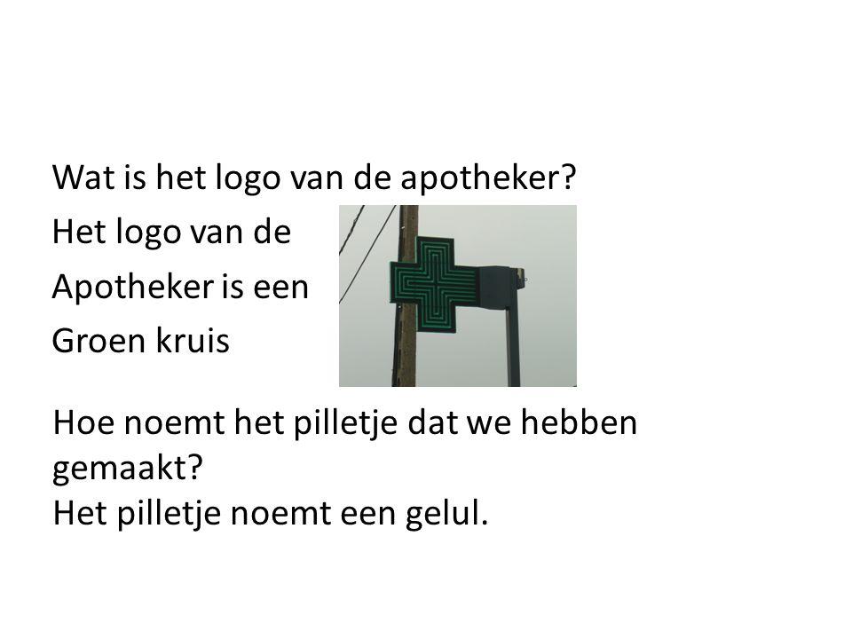 Wat is het logo van de apotheker