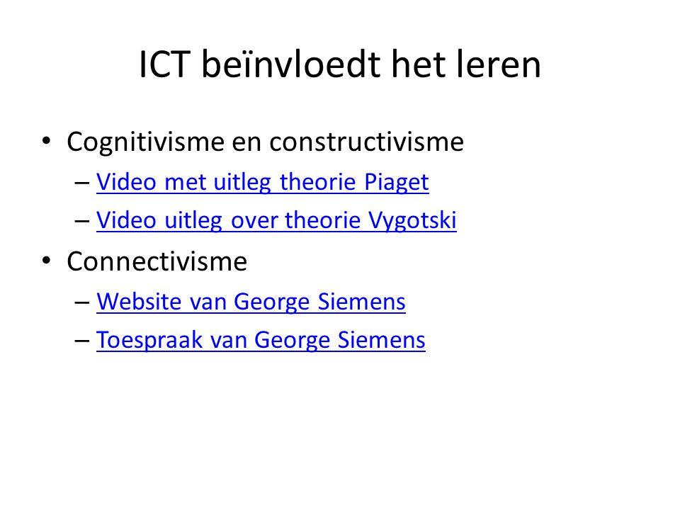 ICT beïnvloedt het leren