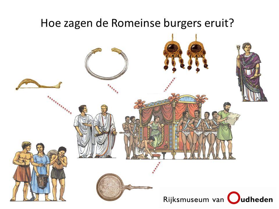 Hoe zagen de Romeinse burgers eruit