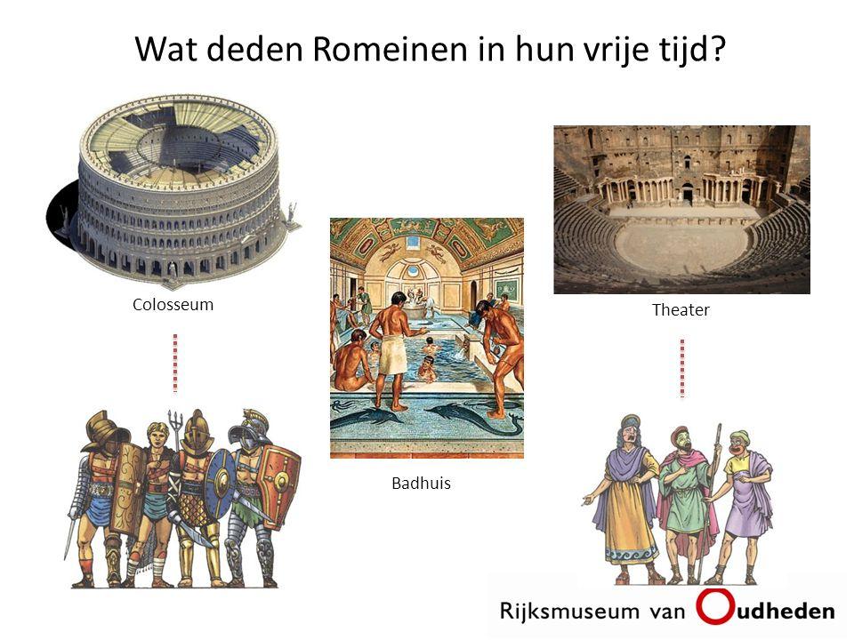Wat deden Romeinen in hun vrije tijd