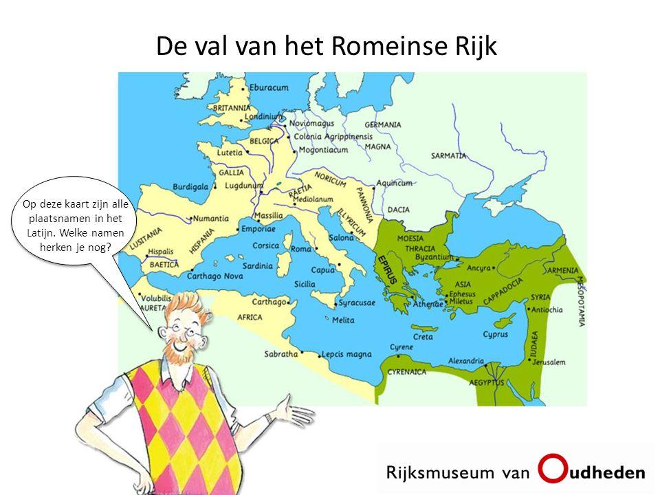 De val van het Romeinse Rijk