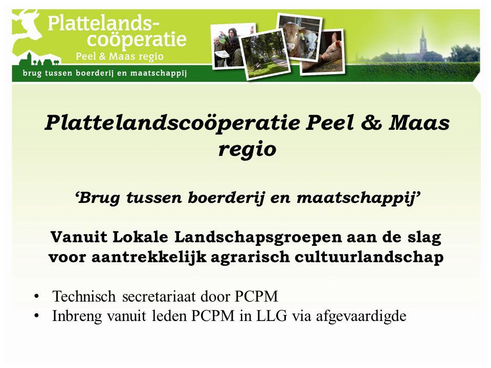 Plattelandscoöperatie Peel & Maas regio
