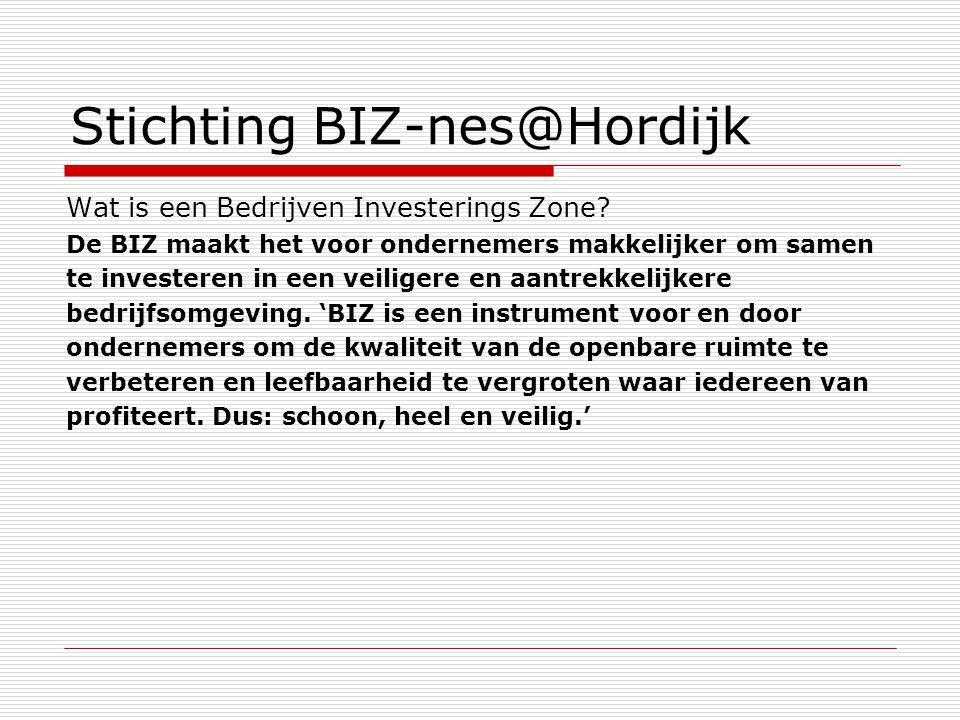 Stichting BIZ-nes@Hordijk