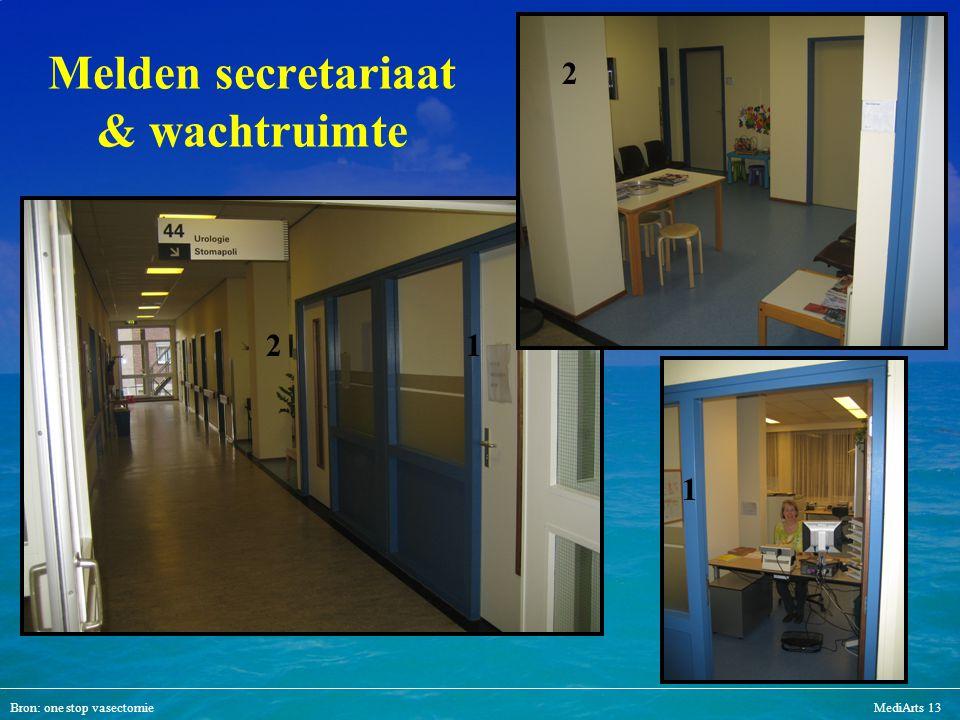 Melden secretariaat & wachtruimte