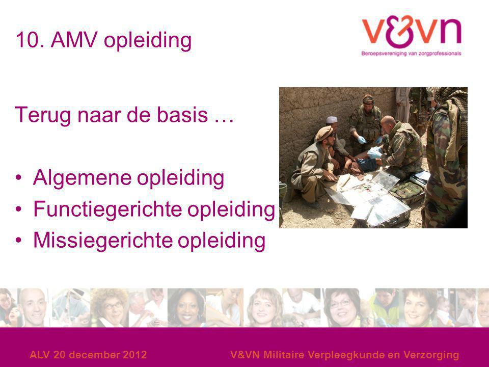 Functiegerichte opleiding Missiegerichte opleiding