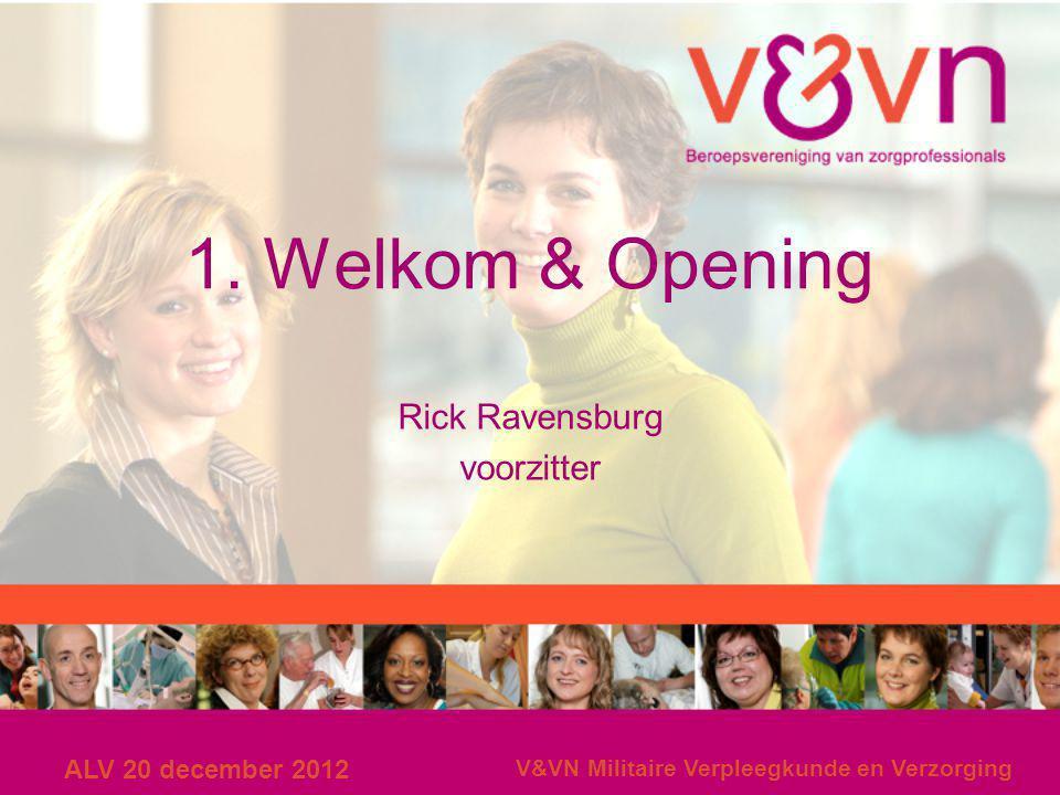 Rick Ravensburg voorzitter