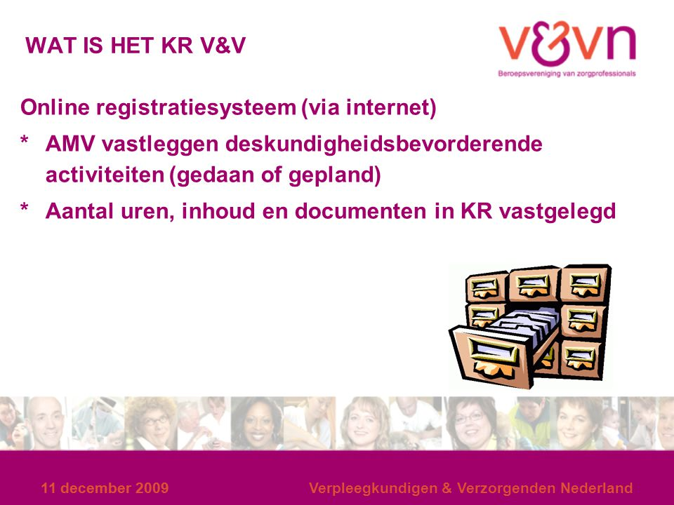 Online registratiesysteem (via internet)