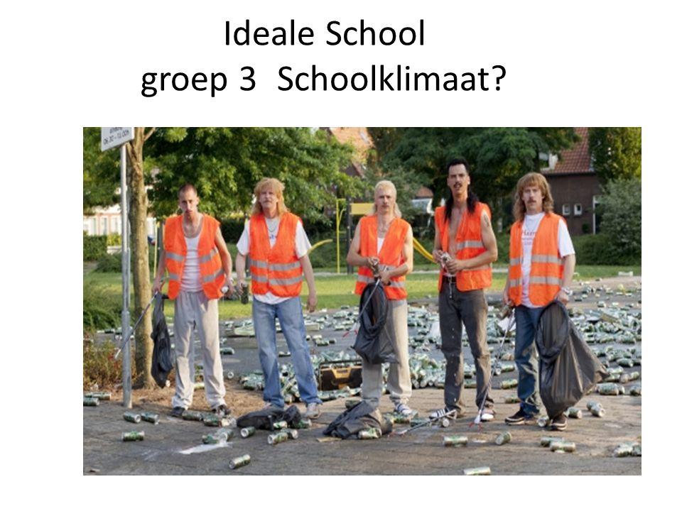 Ideale School groep 3 Schoolklimaat